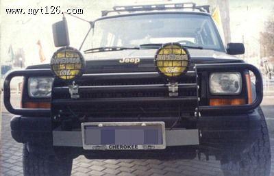 内藏式绞盘 改装新款jeep侧杠 改装jeep升高配件(附助件)高清图片