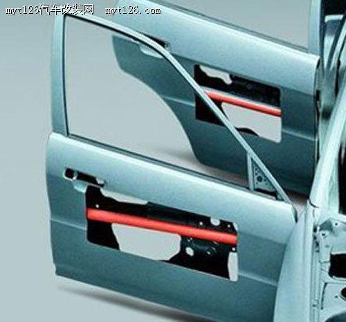 隐藏的保护 防撞杆与主动头部保护系统高清图片