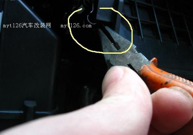 奇瑞qq加装空调滤芯