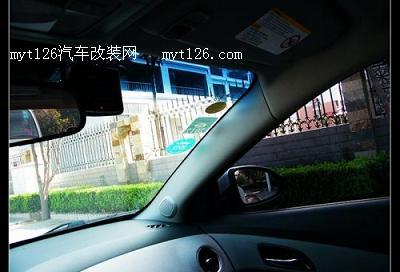 科鲁兹安装行车记录仪及定位仪 附使用效果