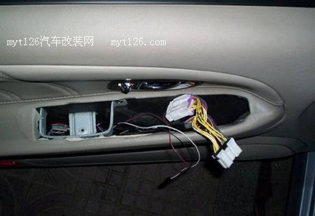 v3菱悦安装自动升降器及电子落锁开关