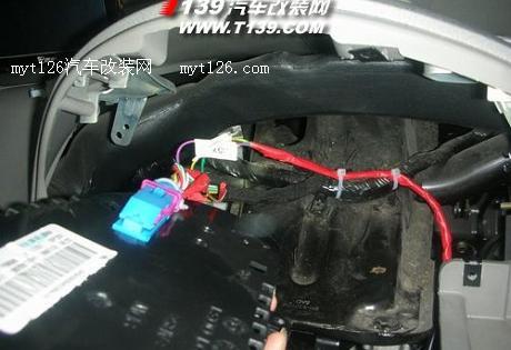 牛人自己动手 奇瑞QQ3改装电子助力高清图片