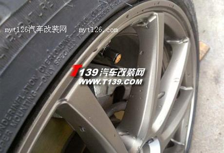 奔腾b70改装轻量化轮毂及使用感受高清图片