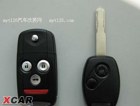 装讴歌原装折叠钥匙高清图片