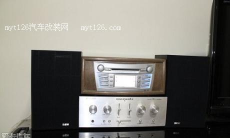 凯美瑞cd改造成家用音响