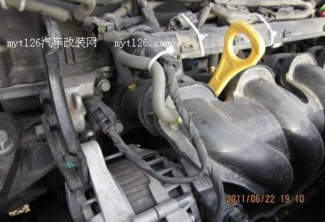 烧气就是省 瑞纳改装天然气动力 - - myt126汽车改装网