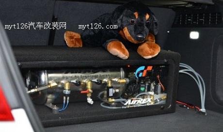 重口味 奥迪A5改装airrex气压避震加awe四出排气 ...
