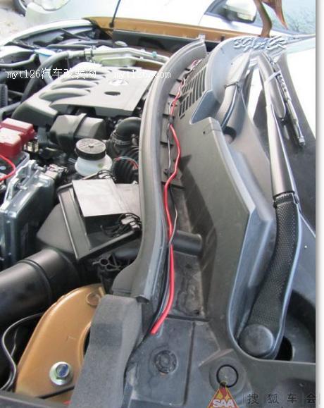 逍客安装车载电台 颇多乐趣 - - myt126汽车改装网