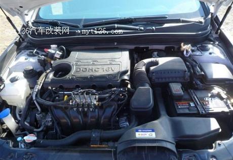 索纳塔8改装天然气动力高清图片