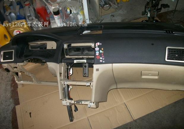标致307换空调蒸发器 - - myt126汽车改装网