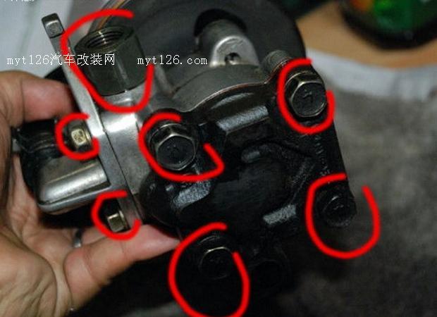 方向助力泵的结构与原理高清图片