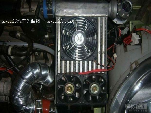 超越小钢炮 乐驰改装高增压TURBO引擎高清图片