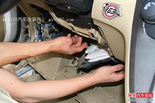 本田CRV加装原车一键启动高清图片