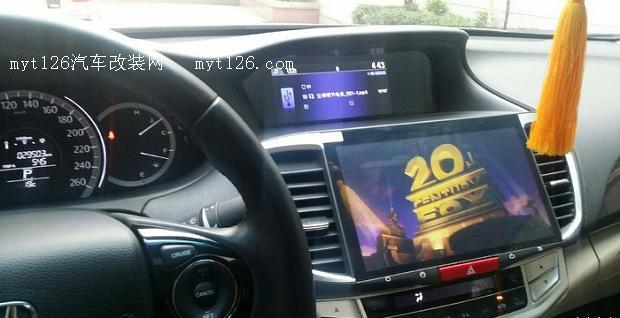 九代雅阁2.4尝鲜原厂10寸DA屏附解除原车智能屏视频限制方法图片