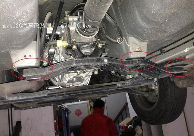五菱汽车底盘构造图解