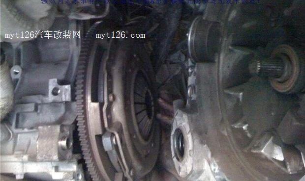 圣达菲更换离合器分泵 - - myt126汽车改装网