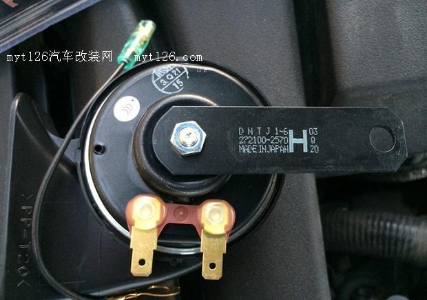 日本汽车喇叭反向电路图