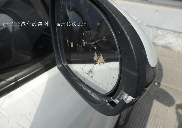 吉利gx7更换后视镜镜片作业 - - myt126汽车改装网