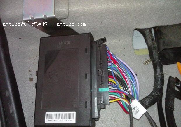 荣威rx5升窗器接线图