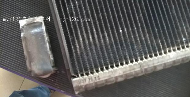 更换凯美瑞空调蒸发器