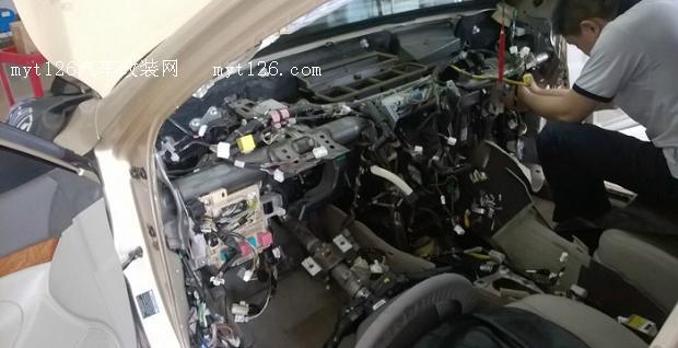 汽车改装空调电路图