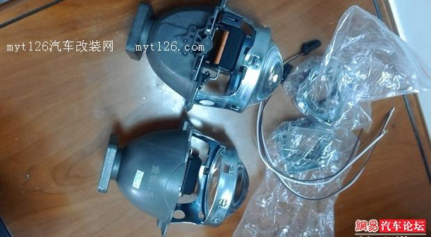 瑞虎3升级大灯透镜及氙气灯