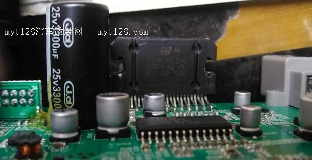 瑞风s3升级原车导航功放芯片