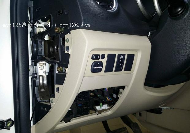 逸动简单的保险盒无损取电安装行车记录仪