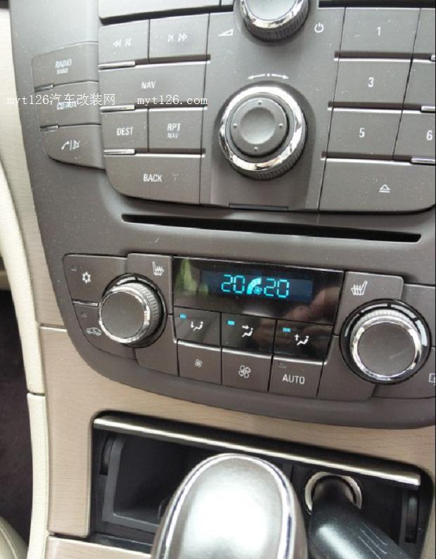 自己动手清洗君威空调系统高清图片