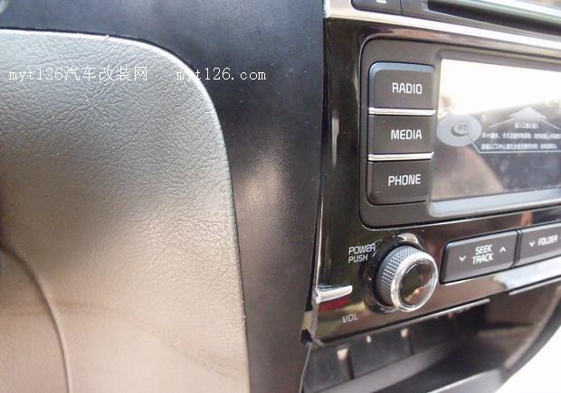 奇瑞QQ3改装起亚K4CD中控车机高清图片