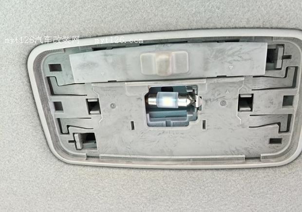 08款威驰更换led灯泡及大灯高清图片