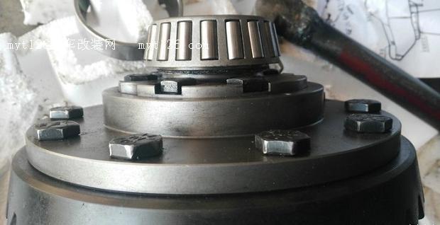 菱智m3换装限滑自锁差速器 - - myt126汽车改装网