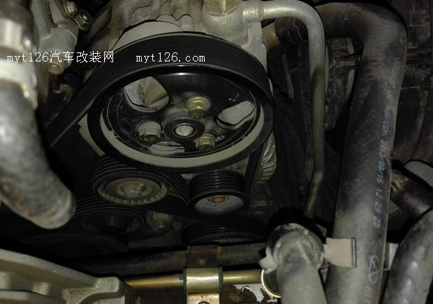 奇瑞a3拆修发电机及清洗进气岐管