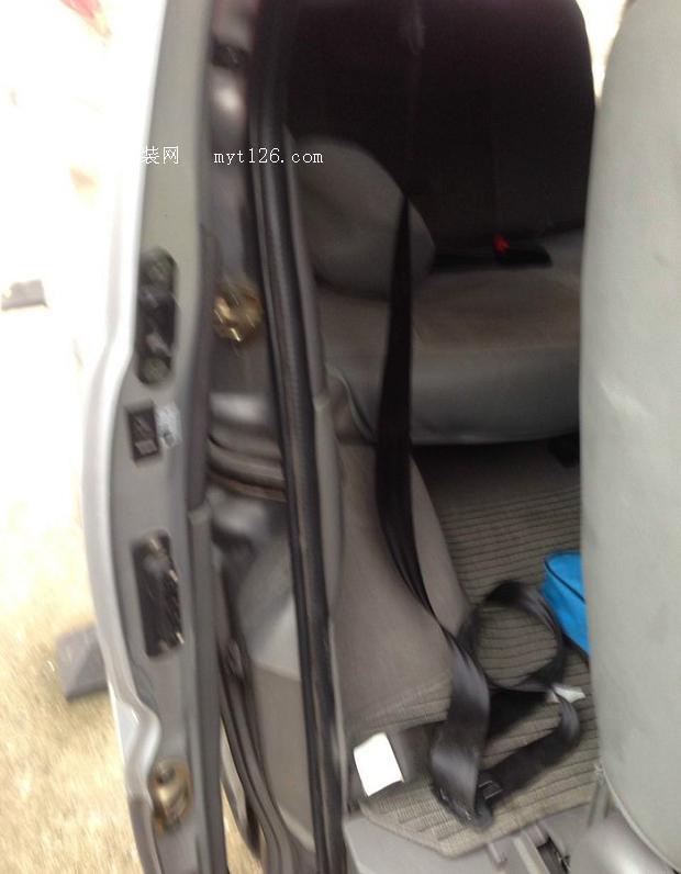 为菱智更换三点式安全带 - - myt126汽车改装网