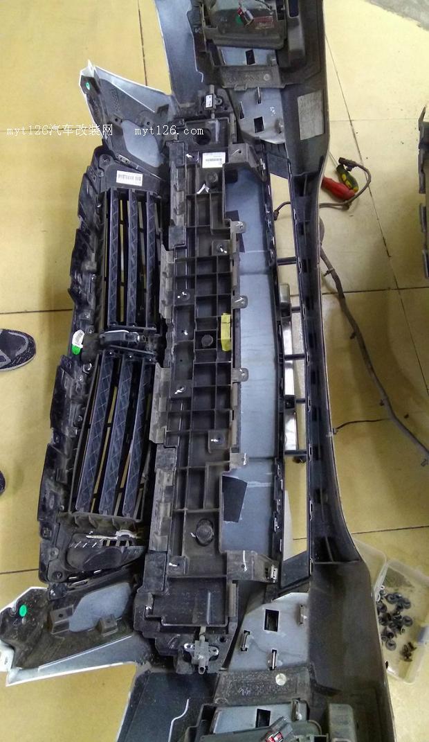 凯迪拉克ats_l加装原厂前后雷达 - - myt126汽车改装网