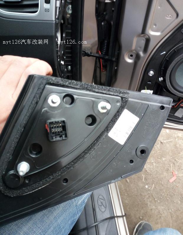 朗动加装右侧盲区摄像头 - - myt126汽车改装网
