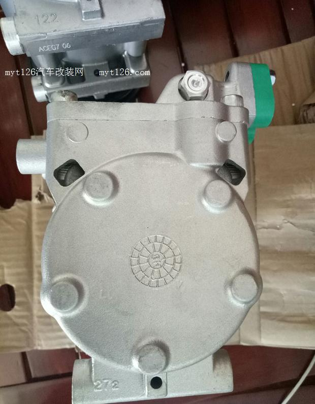 伊兰特更换空调压缩机
