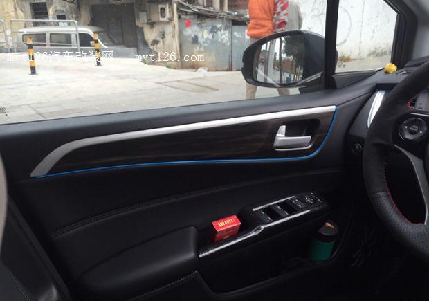 17款杰德自己动手安装车内氛围灯