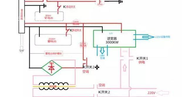 空调挂机改装板电路图