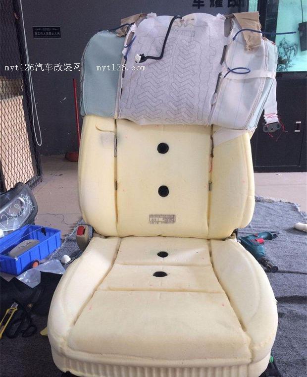 15款汉兰达加装通风座椅应对炎热的夏天
