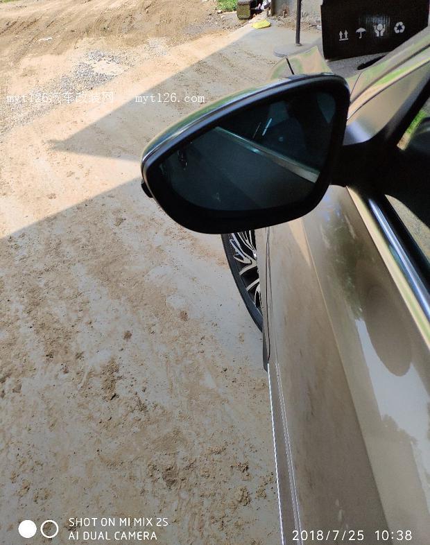 速腾改装流水转向灯后视镜