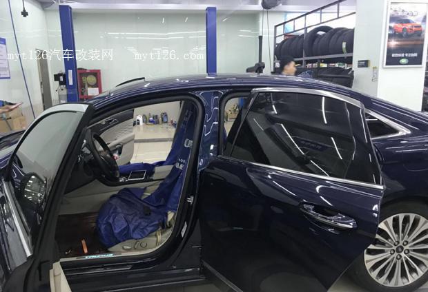 福特金牛座安上电吸门 - - myt126汽车改装网