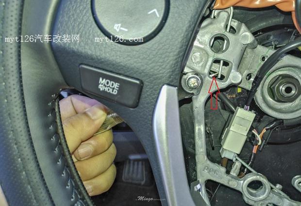 卡罗拉双擎精英版加装定速巡航详细作业