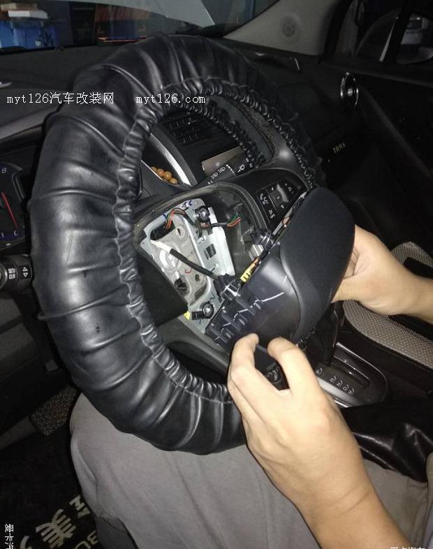 雪佛兰创酷更换驾驶席气囊