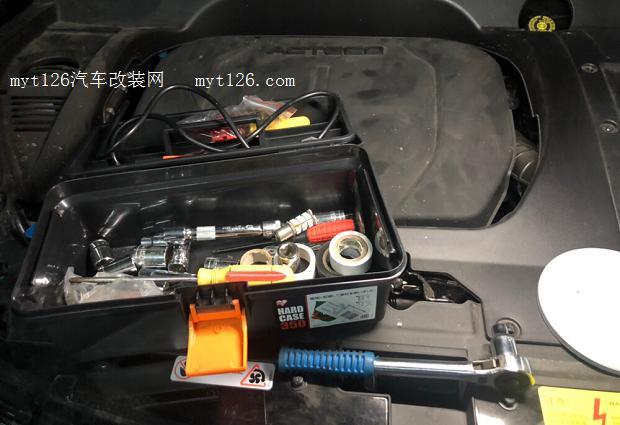 瑞虎8改装带透镜led大灯