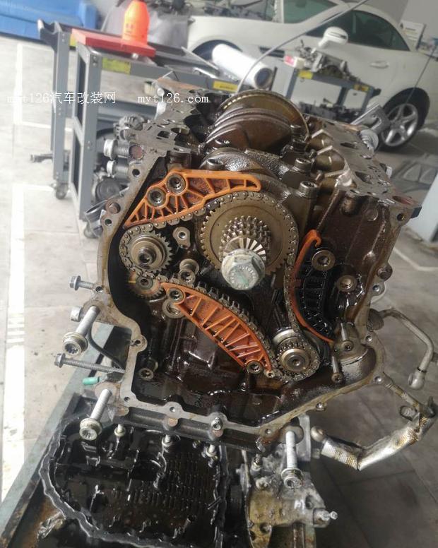 发动机连杆瓦间隙_大众EA888发动机大修方案及维修过程 - - myt126汽车改装网